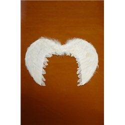 Крылья ангела перьевые белые 3909