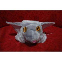 """Mască pentru carnaval """"Pisica"""" gri 3589"""