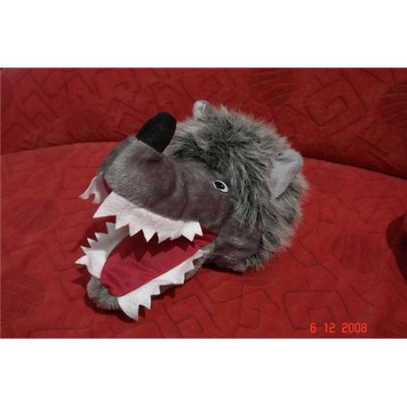 Карнавальная шапочка Волка меховая 2675