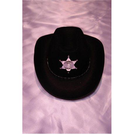 "Карнавальная шляпа ""Шерифа"" 4653"