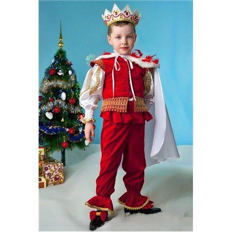 Costum de Carnaval pentru copii Rege 0368, 0362, 3717, 0367