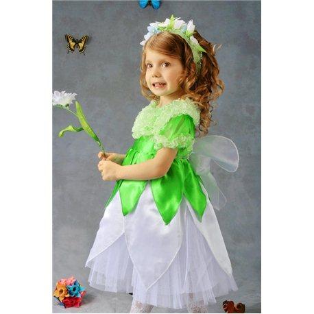 Детский карнавальный и маскарадный костюм Подснежник, Ландыш девочка exclusive 4-5 лет 0212, 0213, 3313, 3312