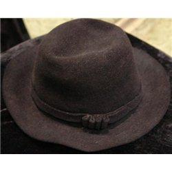"Национальная шляпа ""Пэкалэ"" темно-коричневая 0363"
