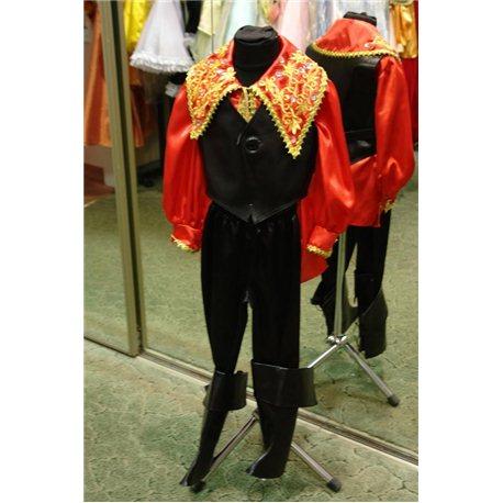 Costum de carnaval pentru copii Țigan 0187