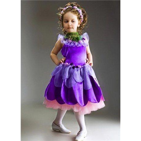 Детский карнавальный и маскарадный костюм Сирень, Топораш на 4 года 0236, 0237, 2769, 2750
