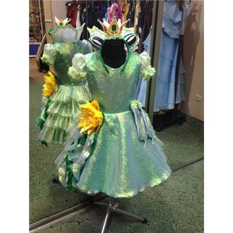 Costum de carnaval pentru copii Printesa Broasca 0267, 0266, 0265