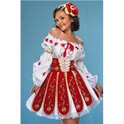 Взрослый национальный костюм Exclusive 0400