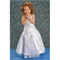 Платье белое с болеро 3386