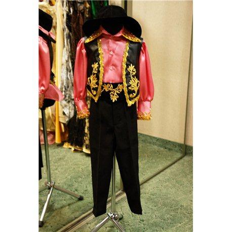 Детский карнавальный и маскарадный костюм Цыган на 4 года 0177, 2928