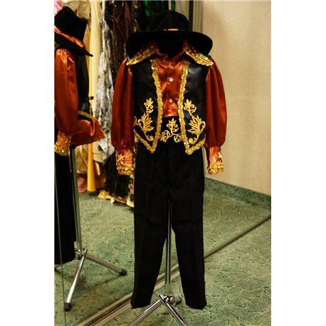 Детский карнавальный и маскарадный костюм Цыган на 5 лет 0178