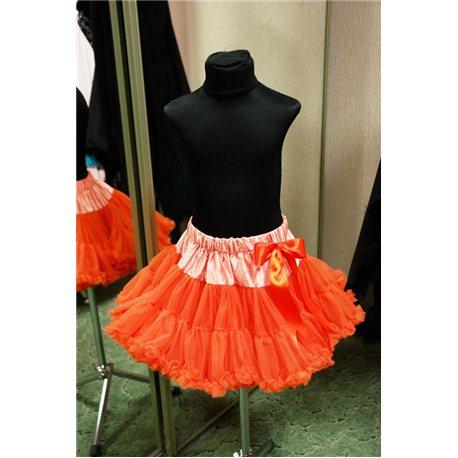 Американка petiskirt оранжевая (юбка) 4778