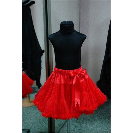 Американка petiskirt красная (юбка) 4776