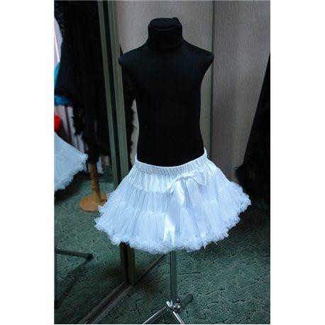 Американка petiskirt белая (юбка) 4786
