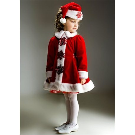 Costum carnaval pentru copii Craciunita 0962, 0963, 0964
