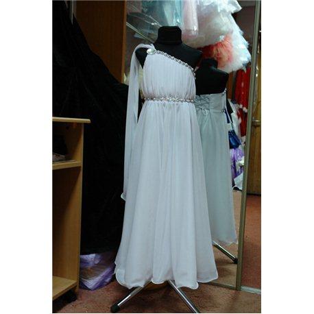 """Платье для девочек """"Афина"""" белое 0636"""