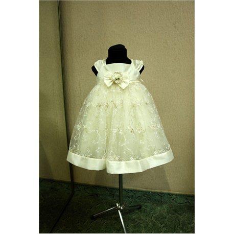 Платье для девочек Жаклин бежевое 0696