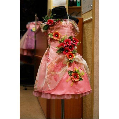 Rochiţă de primăvară roz-închis 4645