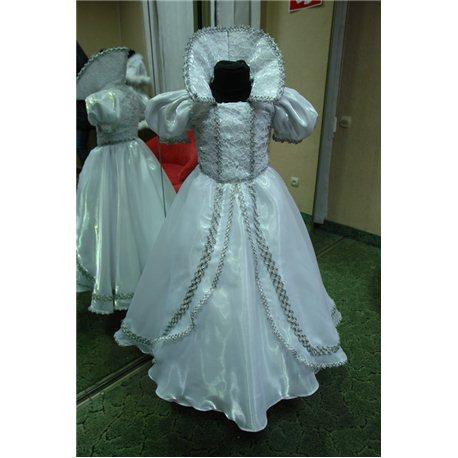 Детский карнавальный и маскарадный костюм Белоснежка белая 6-7 лет 0598, 0599
