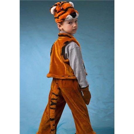 Детский карнавальный и маскарадный костюм Тигр на 4 года 1011