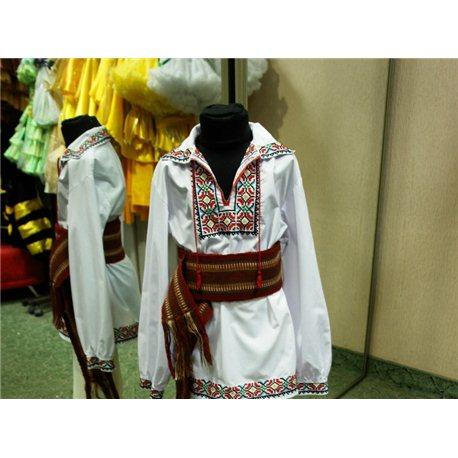 Детский молдавский национальный костюм на 12 -18 лет 0895