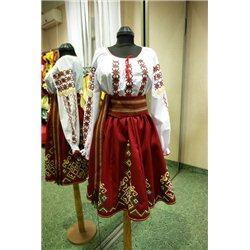 Молдавский национальный костюм 15 лет  0795
