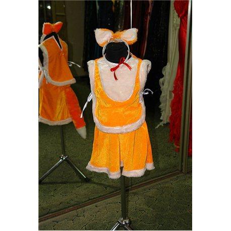 Карнавальный костюм для детей Лиса девочка 6000