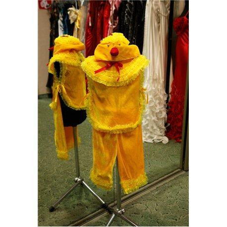 Costum de carnaval pentru copii Puişor fetiţă 6009