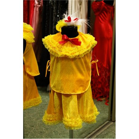 Карнавальный костюм для детей Цыпленок девочка 6010