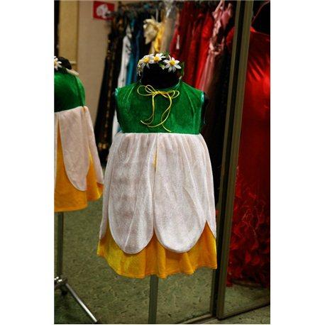 Карнавальный костюм для детей Ромашка девочка 6015