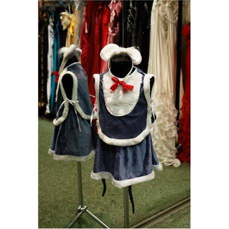 Карнавальный костюм для детей Мышка девочка 6017