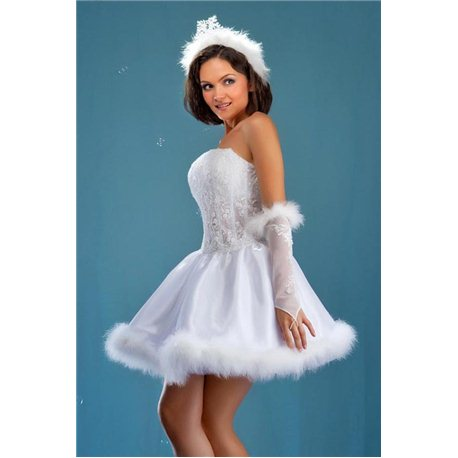 Costum de carnaval pentru adulti Alba ca Zăpada 2344