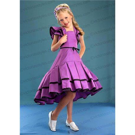 Красивое платье с болеро 4405