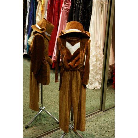 Карнавальный костюм медведь мальчик 6202