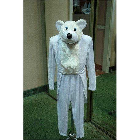 Карнавальный костюм Медведь белый 6210