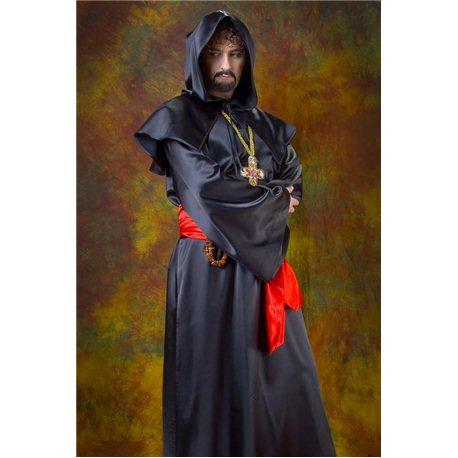 Взрослый карнавальный костюм Священник 54 размер 6209, 3232