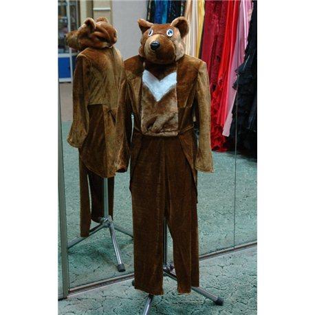 Карнавальный костюм Медведь 4-5 6206