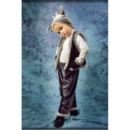 Детский карнавальный костюм Козлик серый 3423, 3997, 2010