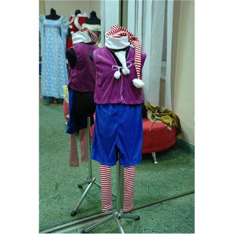Детский карнавальный костюм Буратино 1699, 1700, 0478