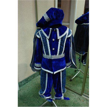 """Детский карнавальный костюм Принц, Паж синий """"Carnaval"""" 6046, 2107, 6045, 2106, 6044, 2105, 6039, 2104"""