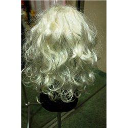 Карнавальный парик длинный, волнистый (черный, синий, серый, салатовый) 0954