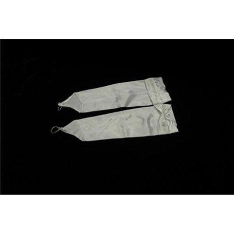 Перчатки для девочек выше локтя белые 3082