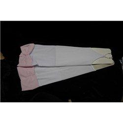 Mănuși pentru fetițe culoarea alba 3035
