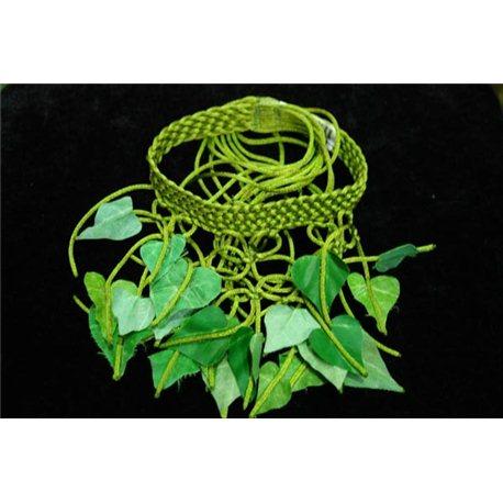 Карнавальные принадлежности украшение на шею зеленое 4746