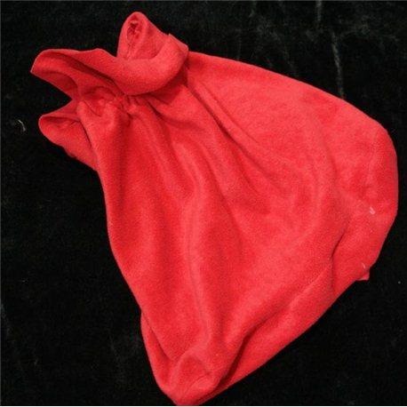 Карнавальные принадлежности мешок Деда Мороза флисовый 3568, 3424