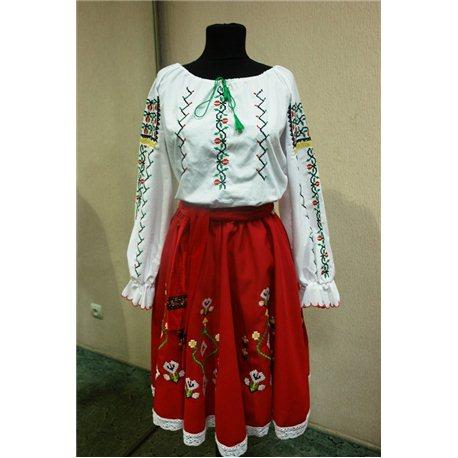 Молдавский национальный костюм для девушки 15-18 лет 4179