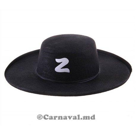 """Palăria pentru carnaval """"Zorro"""" 1073"""