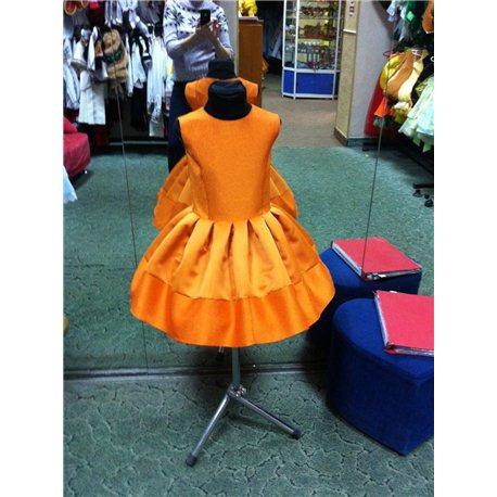 Детское нарядное платье Осень,Тыква, Лисичка ,Белочка 2518