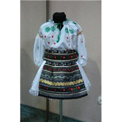 Costum national moldovenesc pentru fetite 5-6 ani 4823