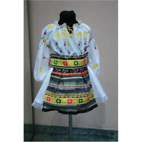 Молдавский национальный костюм для девочки 5-6 лет 4824