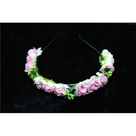 """Обруч """"Весна"""" бело-розовые розочки 1932"""